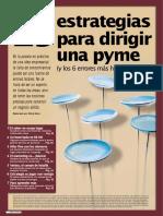 25 Estrategias Para Dirigir Una Pyme