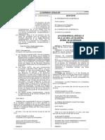 Ley 29743 deroga DU 067-2009