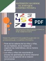 Presentación Matemáticas Constructivistas