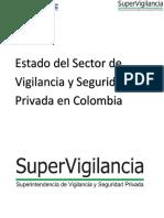 Estado del Sector Vigilancia Seguridad Privada en Colombia - 2015