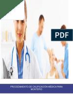 Procedimiento de Calificacion Médica Para Montepio
