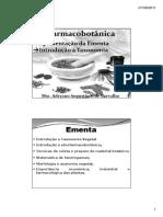 Impressão Introdução à Farmacobotânica