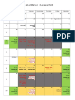semester calendar fall 2017 doc hw