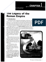 Rome. the Legacy of the Roman Empire - Chapter 1