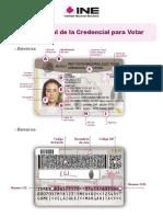 Modelo Actual de la Credencial para Votar