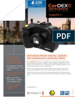 Toughpix II Explosion Proof Digital Camera for Hazardous Vapour Areas