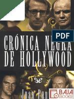 Juan Pando Marcos-Crónica negra de hollywood
