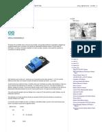 Arduino de ALRO_ Módulo Relee_Relay Arduino