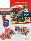 Album Cromos Marvel Superheroes