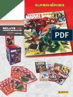Album Cromos Marvel Superheroes