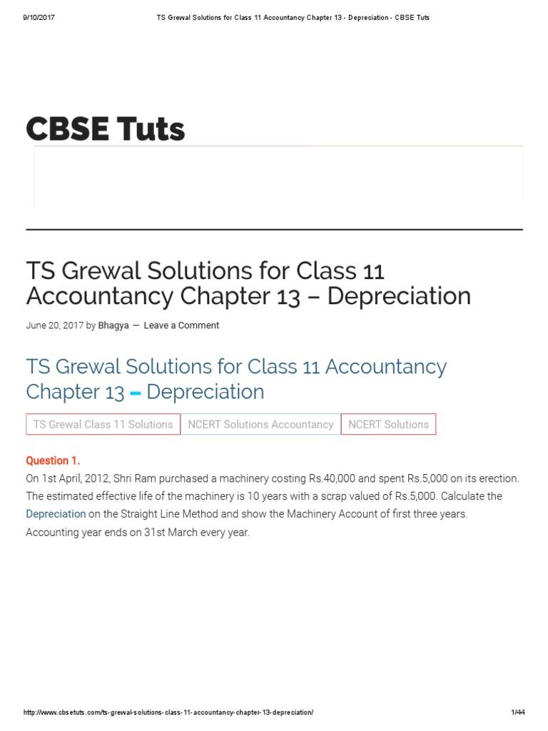 Ts Grewal Accountancy Book Class 12