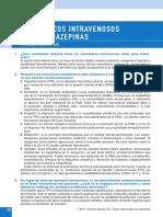 Anestésicos intravenosos y benzodiazepinas