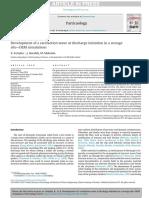 Desarrollo de Una Onda de Rarefacción Al Inicio de La Descarga en Simulaciones de Silo-DeM de Almacenamiento