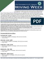 Safe Driving Week Sponsorship Letter