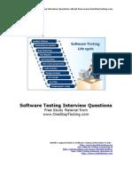 Testing Interview QA