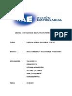 Trabajo Completo Ipae Reclutamiento y Seleccion de Personal