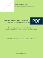 Ottoman Rule in the Balkans