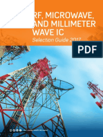Analog Devices RF Microwave and Millimeter Wave IC Selection Guide