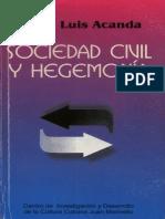 Sociedad Civil y Hegemonia - Jorge Luis Acanda