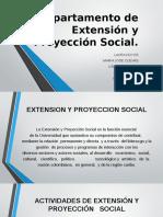 Departamento de Extensi%C3%B3n y Proyecci%C3%B3n Social Seminario.pptm