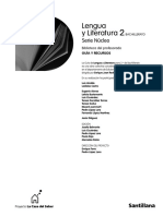 Lengua y Literatura - 2ºBachillerato - Guia Santillana
