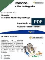 Plan de Negocio Guillermo Idrobo