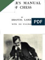 Lasker, Emanuel - Lasker's Manual of Chess