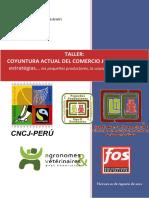 INFORME MEMORIA -Taller Coyuntura Actual de Comercio Justo - Lima 10 Agosto 2012 (2)