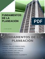 Fundamentosde La Planeacion