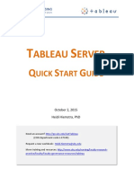 Tableau Server Quick Start Guide 10-2-15