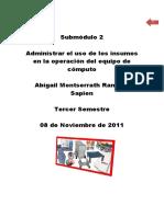 71993981 Administracion de Insumos