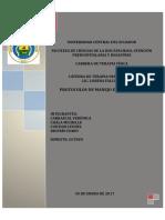 Protocolos de Manejo en Hemiplejía (1)