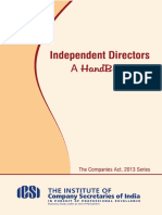 Guide to Independent Director
