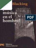 BLACKING ¿ Hay Musica en El Hombre?