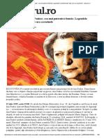 Apostolii Lui Stalin. Ana Pauker, Cea Mai Puternică Femeie.