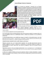 Importancia Bilingüe Cultural en Guatemala