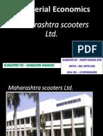 Maharashtra Scooters Ltd