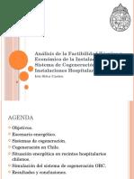 Análisis de la Factibilidad Técnica y Económica de la Instalación de un Sistema de Cogeneración ORC en Instalaciones Hospitalarias Existentes