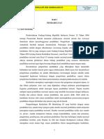 Draf Dokumen I KTSP