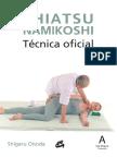 8445-532 Shiatsu Namikoshi Tecnica Oficial 1