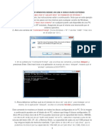 Como Instalar Windows Desde Un Usb o Disco Duro Externo