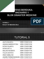 PPT Pleno Skenario 1 Blok Disaster Medicine