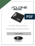 Cyclone micro user manual