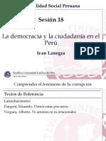 Clase 18 - Democracia y Ciudadanía - Desafíos peruanos.pptx