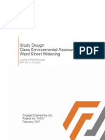 Ward Street Widening Study Design