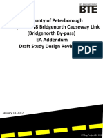 Bridgenorth Bypass Study Design