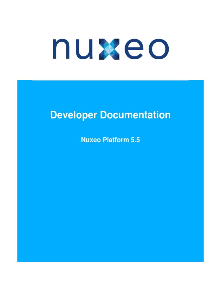 Nuxeo Platform 5 5 Technical Documentation | Xml Schema | Java