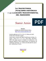 Amin La Trayectoria Del Capitalismo Historico y La Vocacion Del Marxismo