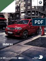 Catálogo BMW X4 18012017