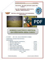 Sondeo Electrico Vertical